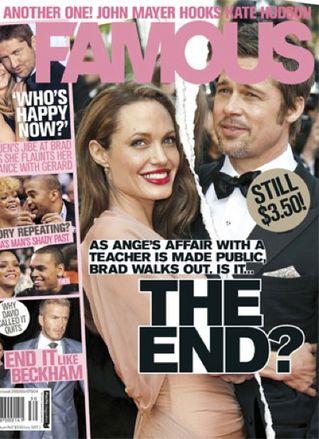 Angelina i Brad - manifestacja uczuć (FOTO)