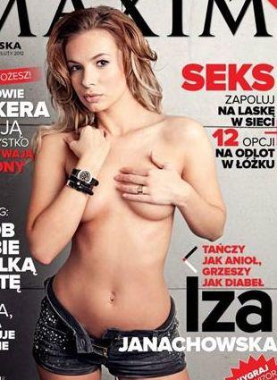 Izabela Janachowska na okładce Maxima (FOTO)