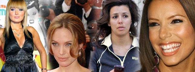 Eva Longoria bez makijażu, Brangelina oddaje miliony