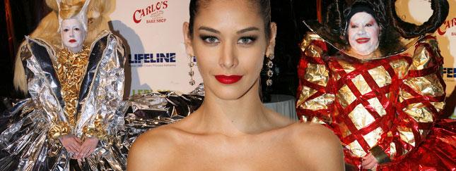 Miss Universe na balu przebierańców (FOTO)