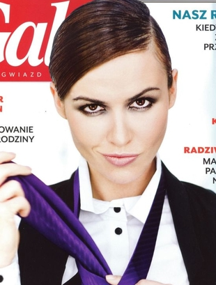 Marta Żmuda-Trzebiatowska w męskim stylu (FOTO)