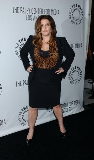 Lisa Marie Presley pozuje z ciążowym brzuchem