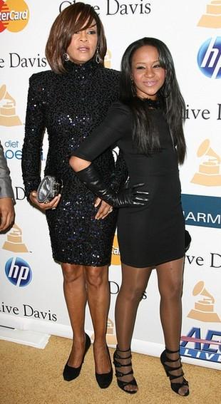 Whitney Houston wciągała kokainę z córką Bobbi Kristiną!