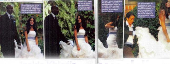 Więcej o ślubie Khloe Kardashian (VIDEO + FOTO)