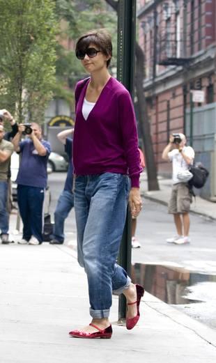 Katie Holmes kupiła następną parę spodni