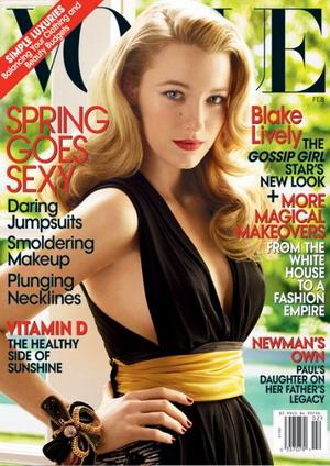 Blake Lively dla magazynu Vogue