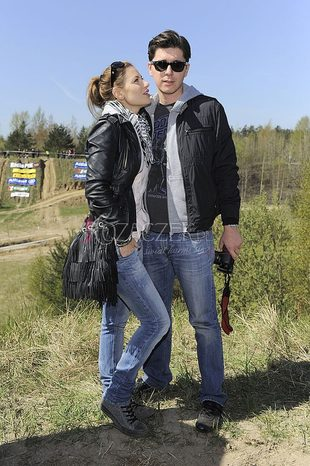 Aleksandra Kisio z chłopakiem na imprezie (FOTO)
