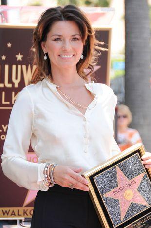Shania Twain ma już własną gwiazdę w Hollywood (FOTO)