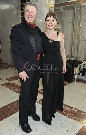 Emilian Kamiński i Justyna Sieńczyłło na salonach