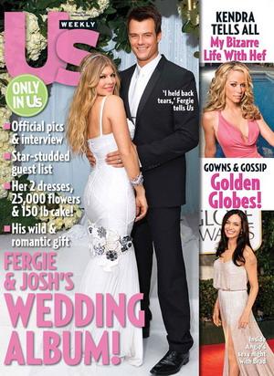 Fergie i Josh Duhamel odnowili przysięgę małżeńską
