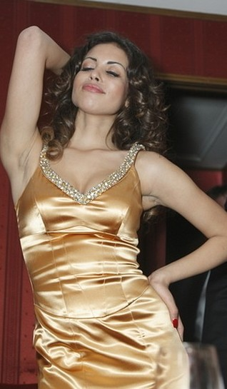 Ruby Rubacuori (kochanka Berlusconiego) w Operze Wiedeńskiej