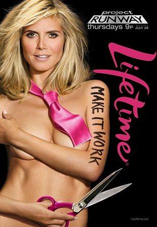 Heidi Klum topless (FOTO)