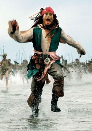 W kawiarni znaleziono scenariusz Piratów z Karaibów 4!