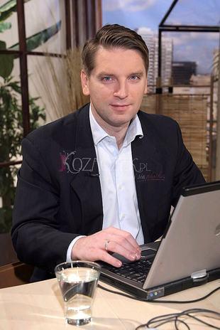 Tomasz Lis wrócił do domu Kingi Rusin