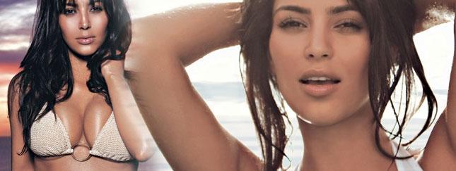 Kim Kardashian dla FHM (FOTO)