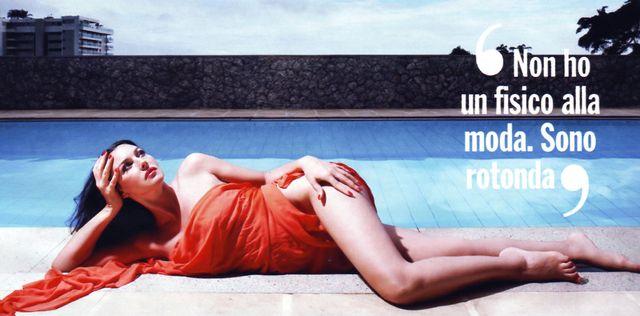 Monica Bellucci w magazynie Chi (FOTO)