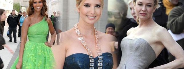 Modelki, aktorki i ich piękne kreacje (FOTO)
