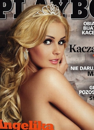 Angelika Jakubowska - miss Polonia 2008 nago w Playboyu FOTO