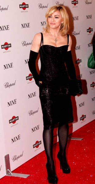 Imprezowa Madonna (FOTO)