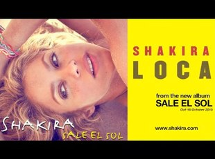 Nowy singiel Shakiry - Loca [VIDEO]