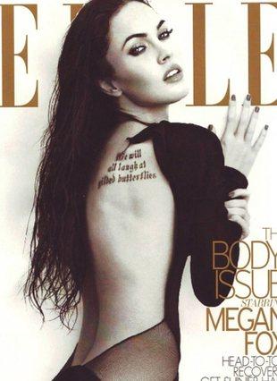 Megan Fox - zaspana i bez makijażu