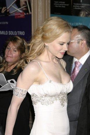 Nicole Kidman i jej zmarszczony nosek