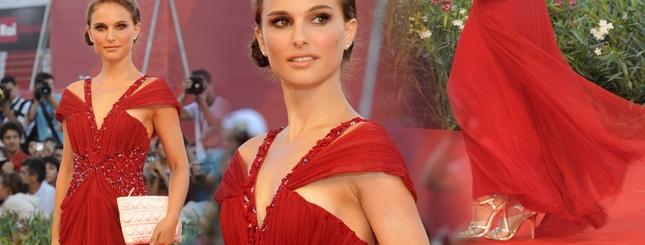 Czarująca Natalie Portman w czerwieni (FOTO)