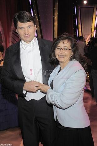 Żona Gołoty: Wykupiłam mu kurs tańca jeszcze w Ameryce