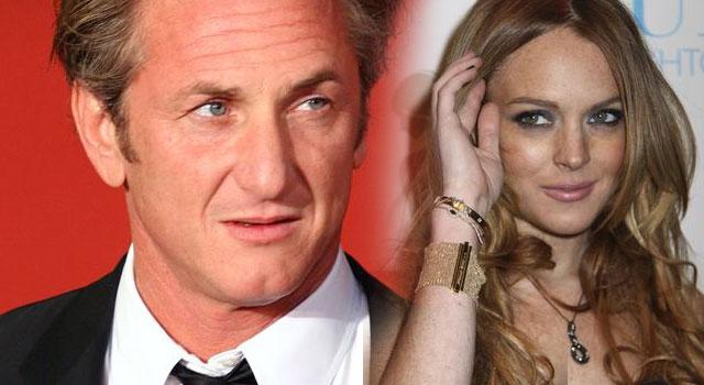 Lindsay Lohan trącała się nosem
