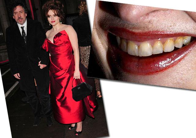 Żółte zęby Heleny Bonham Carter (FOTO)