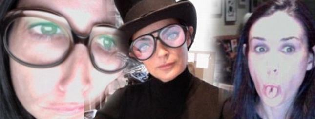 Co Demi Moore wrzuca na Twittera? (FOTO)
