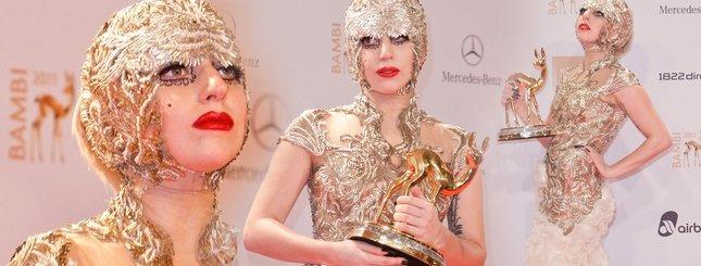 Lady Gaga w złocie (FOTO)