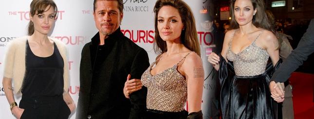 Angelina Jolie zdecydowała się pokazać dekolt (FOTO)