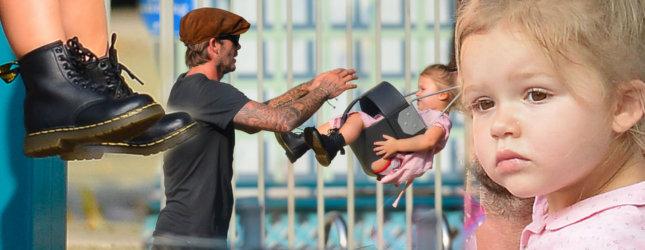 Harper Beckham w mini martensach (FOTO)