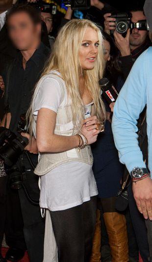 Lindsay Lohan ma zakaz wstępu na nowojorski tydzień mody