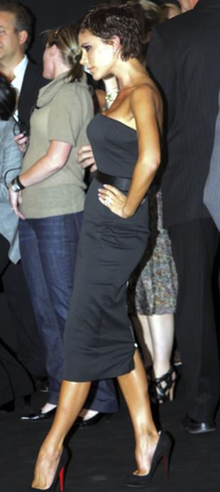 Victoria Beckham w gorsecie