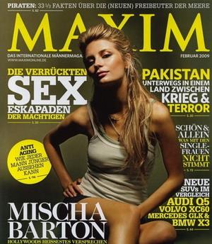 Mischa Barton dla Maxima (FOTO)