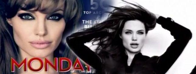 Angelina Jolie na okładce Vanity Fair [VIDEO]