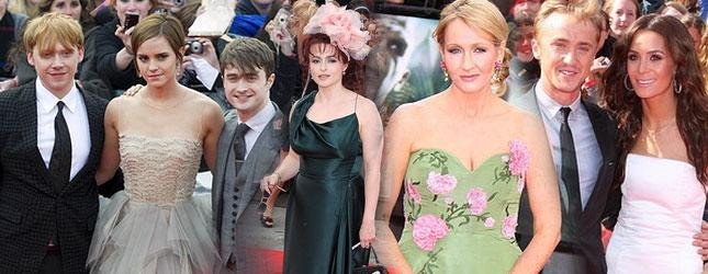 Gwiazdy na premierze Harry Potter i insygnia śmierci (FOTO)