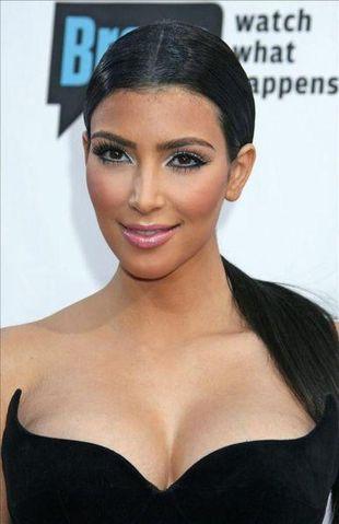 Kim Kardashian zarobi 50 tys. dolarów na urodzinach