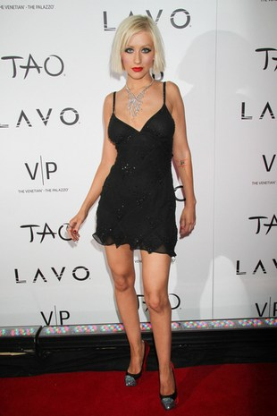 Christina Aguilera krótko i sexy (FOTO)