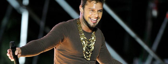 Ricky Martin i jego pociechy (FOTO)