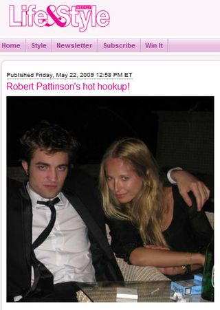 Pattinson flirtował na imprezie w Cannes (FOTO)