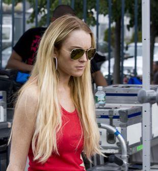 Lindsay Lohan coś knuje