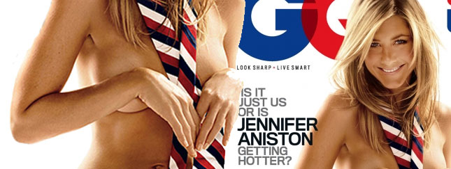 Jennifer Aniston nagusieńka w GQ! (FOTO)
