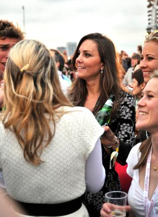 Kate Middleton z księciem na imprezie