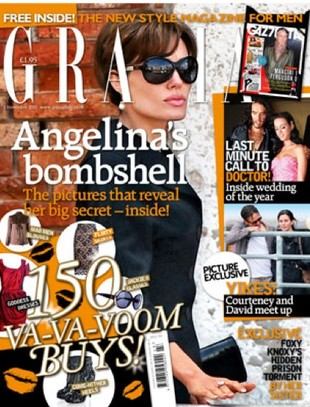 Angelina Jolie zrobiła Bradowi awanturę o Courtney Cox!
