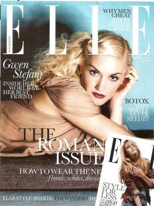 Uwodzicielska Gwen Stefani w Elle (FOTO)