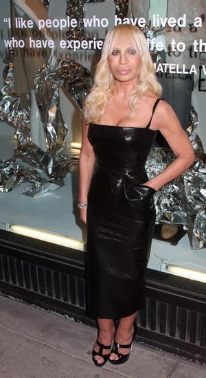 Donatella Versace powinna iść się leczyć z tanoreksji