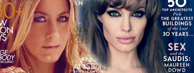 Angelina Jolie czy Jennifer Aniston? (FOTO)